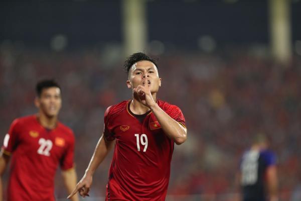 Quang Hải tại AFF Cup 2018. Ảnh: Đức Đồng