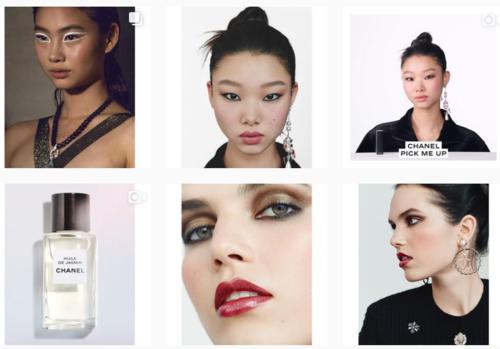 Instagram của Chanel Beauty Korea chưa từng đăng ảnh Jennie, cũng không follow hay like bài đăng của cô nàng.