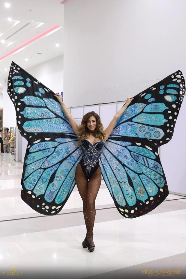 <p> Hoa hậu Costa Rica hóa thành chú bướm khổng lồ đầy bí ẩn và quyến rũ.</p>