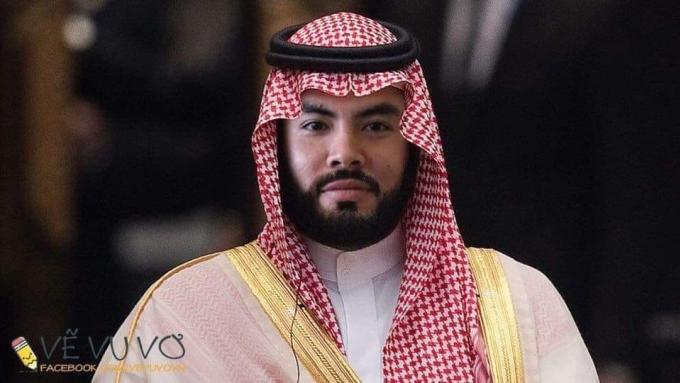 <p> Hoàng tử Đức Huy phiên bản Ả- Rập, đủ quý tộc chưa?</p>
