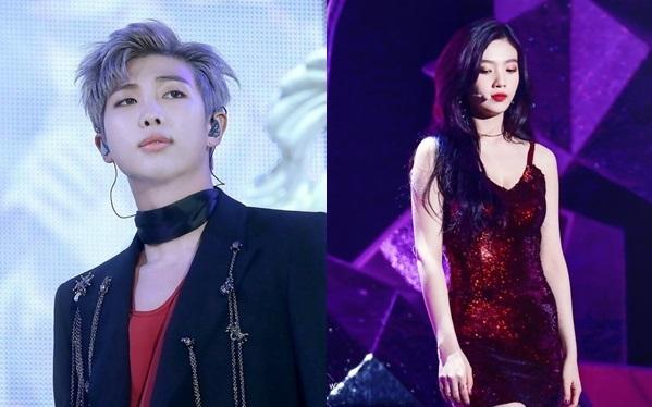 Tháng 10 năm nay, một tin đồn được tung lên mạng xã hội Trung Quốc, cho biết mộtleader củanhóm nhạc rất nổi tiếng, người tưởng chừng như chưa bao giờ hẹn hò, không dính líu tới idol nữ,thật ra đã có bạn gái là idol thuộc Big 3, một người sexy đúng gu của anh ấy. Dù tin đồn không khẳng định danh tính cặp sao này nhưng nhiều fan dự đoán là RM (BTS) và Joy (Red Velvet).J-Hope (BTS) và Wendy (Red Velvet) từng bị đồn là có gì đó, dù hai người trên thực tế lại... chẳng liên quan đến nhau.