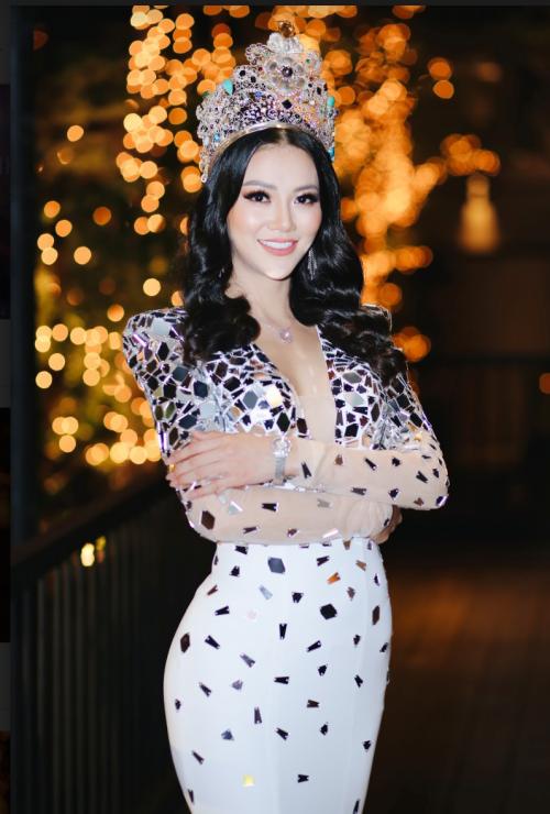 Phương Khánh xinh đẹp xuất hiện tại sự kiện.