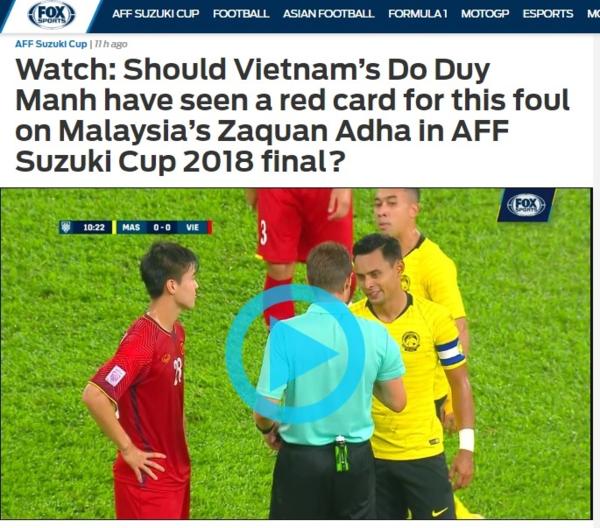 Báo châu Á tiếc nuối cho trận hòa của Việt Nam trên đất Malaysia - 1