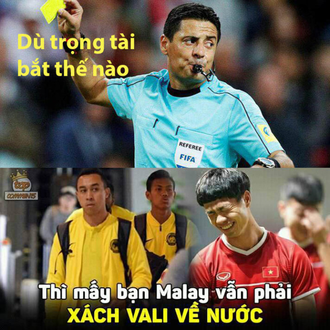 <p> Nhiều người hâm mộ bóng đá Malaysia hy vọng Faghani sẽ đem lại điềm may cho đội nhà. Bởi, trọng tài người Iran đã bắt chính trận thắng đậm của họ trước Myanmar ở vòng bảng cách đây bốn tuần, trong lần đầu làm nhiệm vụ tại AFF Cup 2018. Nhưng mong đợi của họ không trở thành sự thực.</p>