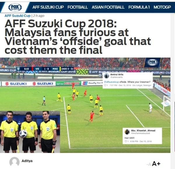 Bài viết trên chuyên trang bóng đá hàng đầu châu Á về bàn thắng của Anh Đức.