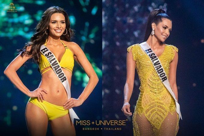 <p> Hoa hậu Hoàn Vũ El Salvador 2018 tên Marisela de Montecristo. Cô 25 tuổi, cao 1,75 m. Marisela de Montecristo có thân hình cực chuẩn với làn da nâu rám nắng quyến rũ. Cô từng đăng quang danh hiệu Nữ hoàng sắc đẹp Mỹ Latin 2013 (Nuestra Belleza Latina 2013).</p>