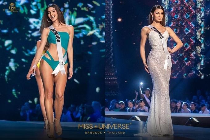 <p> Hoa hậu Ecuador Virginia Limongi năm nay 24 tuổi. Cô từng đại diện đất nước ở Miss World 2014 nhưng không đạt thành tích nào. Trở lại đấu trường Miss Universe, Limongi được yêu mến nhờ vóc dáng gợi cảm, gương mặt xinh đẹp, phong thái tự tin.</p>