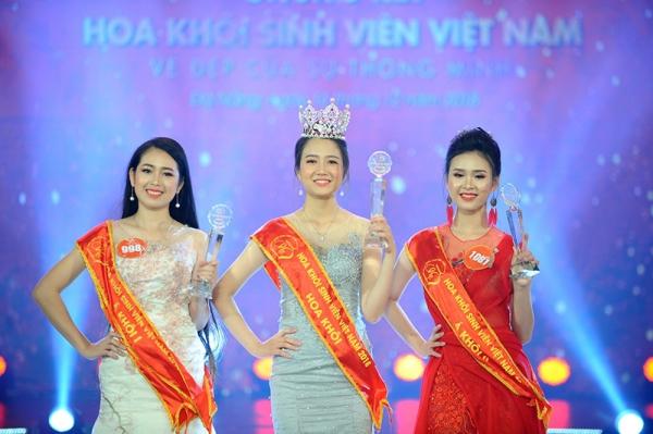 Nhan sắc hiền dịu của tân Hoa khôi Sinh viên Việt Nam