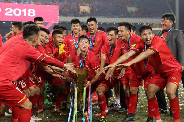 Tại giải đấu cấp châu lục, Việt Nam là đội bóng được đánh giá cao khi vừa vô địch AFF Cup 2018.
