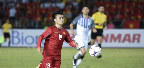 Quang Hải xuất hiện trên trang chủ AFC.