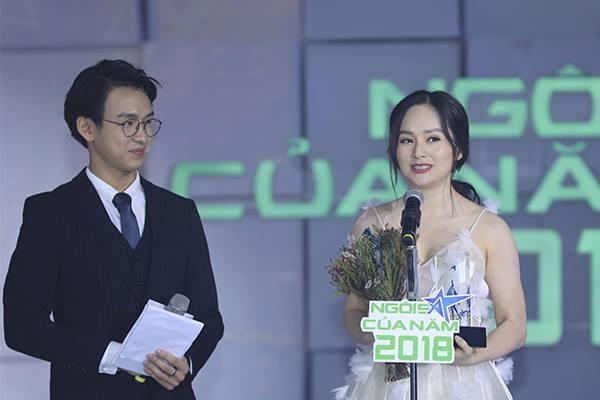 Lan Phương nhận giải Ngôi sao Phim ảnh.