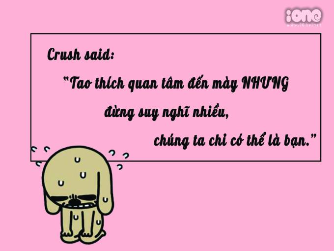 <p> Chỉ là crush thích thả thính và ban phát tình cảm thôi mà.</p>
