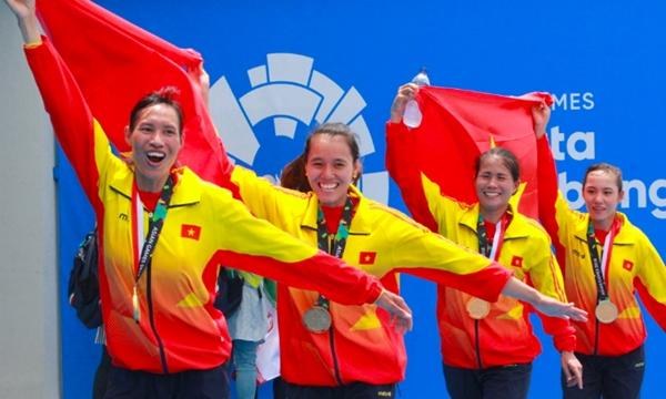 Thành công của đội rowing Việt Nam có nhiều mồ hôi và nước mắt.