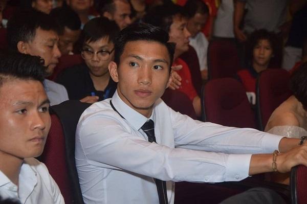 Cầu thủ Đoàn Văn Hậu là một trong những ứng viên của giải Cầu thủ trẻ xuất sắc nhất 2018.