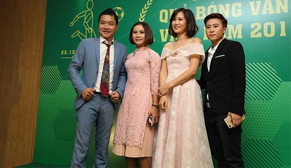 Dàn trai xinh, gái đẹp góp mặt trong lễ trao giải Quả bóng Vàng 2018 - 5