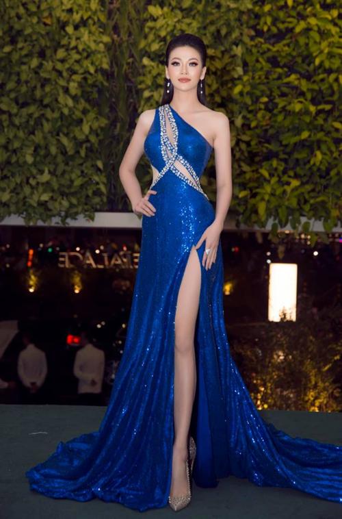 Phương Khánh tại sự kiện Ngôi sao của năm.