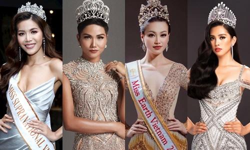 4 nhan sắc giúp Việt Nam thăng hạng trong năm 2018.