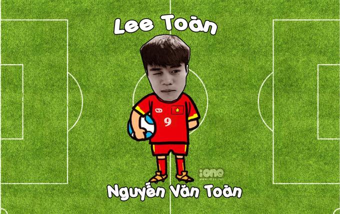"""<p> Là fan cuồng của nhóm nhạc Big Bang nên style mà chàng tiền vệ theo đuổi chính là của Hàn Quốc, từ đầu tóc cho đến trang phục. Cũng bởi vậy mà biệt danh """"Lee Toàn"""" ra đời.<br /> Nguyễn Văn Toàn sinh năm 1996, đang giữ vị trí tiền đạo cho CLB Hoàng Anh Gia Lai tại V.League 1 và đội tuyển Quốc gia Việt Nam. Ở Asian Cup 2019 tới đây, Văn Toàn là một trong những cầu thủ được HLV Park Hang Seo lựa chọn.</p>"""