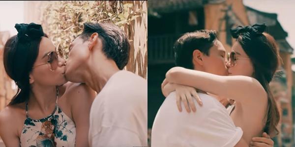 Hồ Ngọc Hà - Kim Lý cứ hễ hôn nhau là gây bão - 1