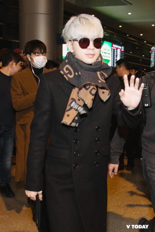 Yun Hyeong khiến các fan cảm tưởng như anh đang đặt chân tớiHà Nội hoặc Sa Pa chứ không phải Sài Gòn...