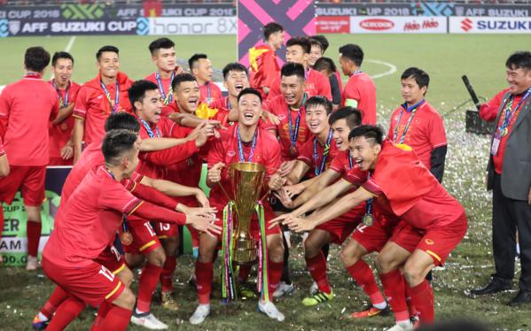 Đội tuyển Việt Nam có một năm tành công với bóng đá.