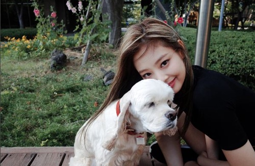 Có lẽ vì không thể ở bên bạn trai mọi lúc mọi nơi nên Jennie đã đặt tên chú chó của mình là& Kai.