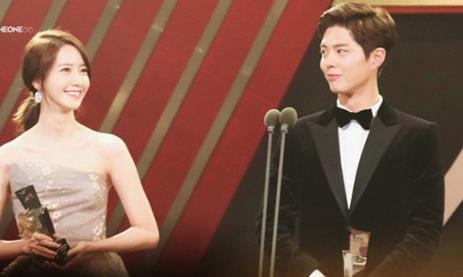 Yoon Ah đứng cạnh sao nam nào cũng đẹp đôi.