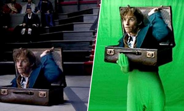 Các cảnh quay đặc biệt được thực hiện trên phông xanh, sau đó xóa đi và thêm thắt những chi tiết sao cho phù hợp với kịch bản phim.