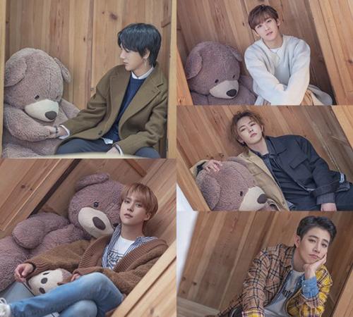 Super Junior Yesung, Highlight Son Dongwoon, Kevin, Kim Nam Ho & Block B U Kwon