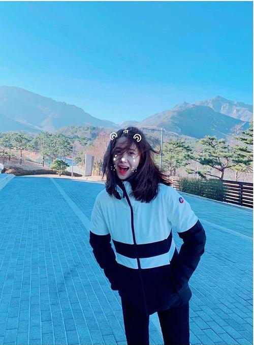 Yoon Ah đáng yêu hết cỡ trong loạt ảnh mừng năm mới.