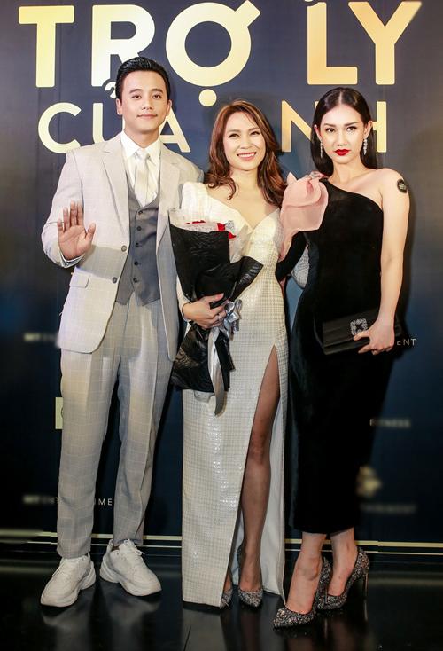 Quỳnh Chi đảm nhận vai ác trong tuyến nhân vật của phim.