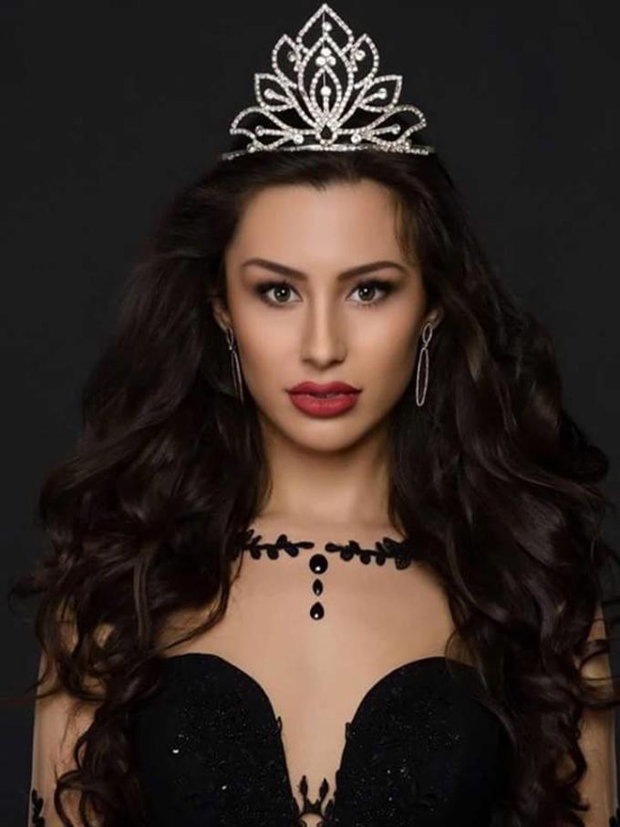 <p> Đại diện Bulgaria -Gabriela Velikova - sở hữu nhan sắc bị chê quá già so với tuổi 20.</p>