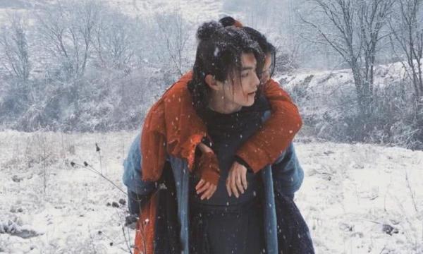 Hình ảnh lãng mạn của cặp đôi trong phim