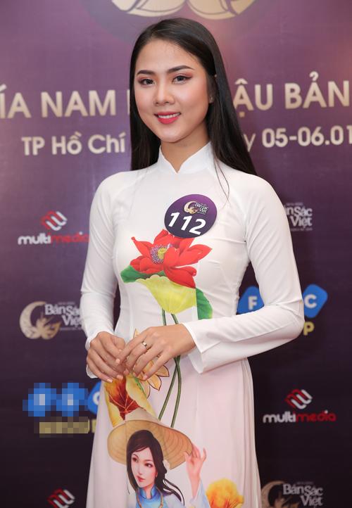 Nhiều thí sinh Hoa hậu Bản sắc Việt toàn cầu 2019 nhan sắc kém nổi bật - 3