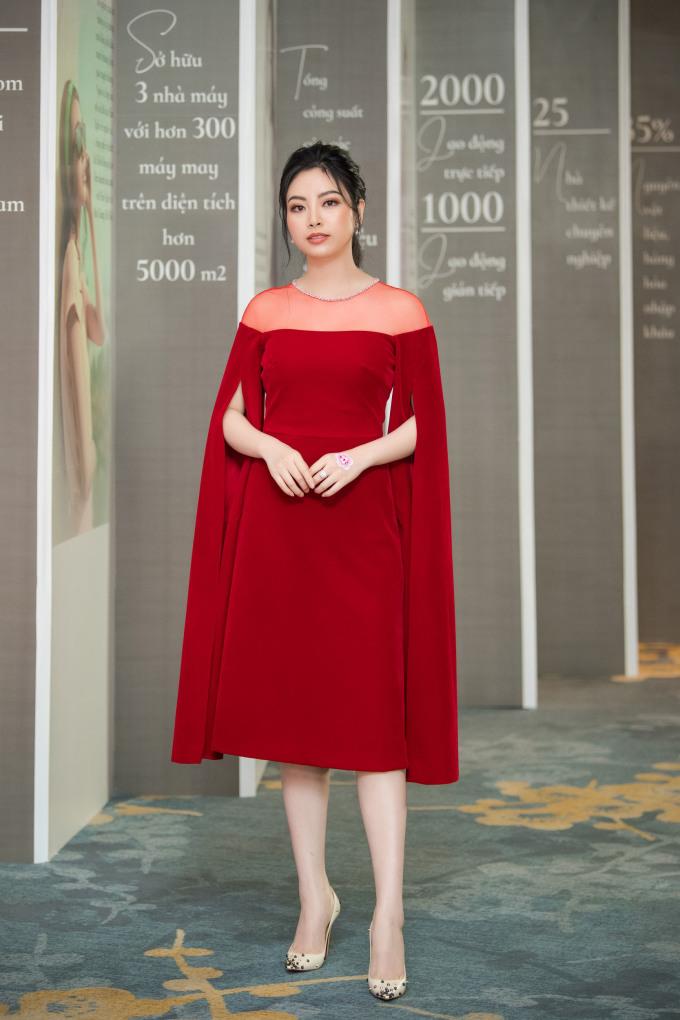 <p> Hoa hậu dân tộc Ngọc Anh.</p>