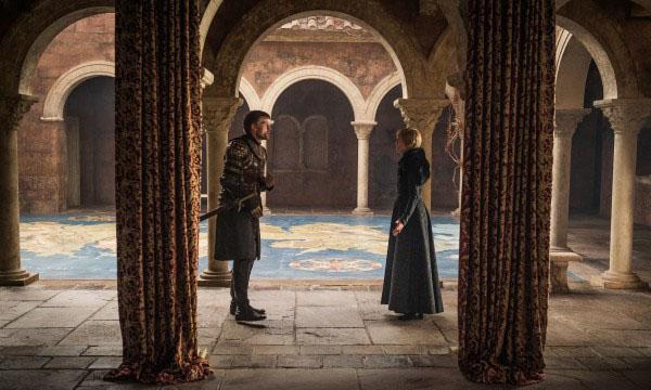 [Một trong những điểm nhấn của Game Of Thrones là mức đầu tư khủng về bối cảnh, kỹ xảo.]
