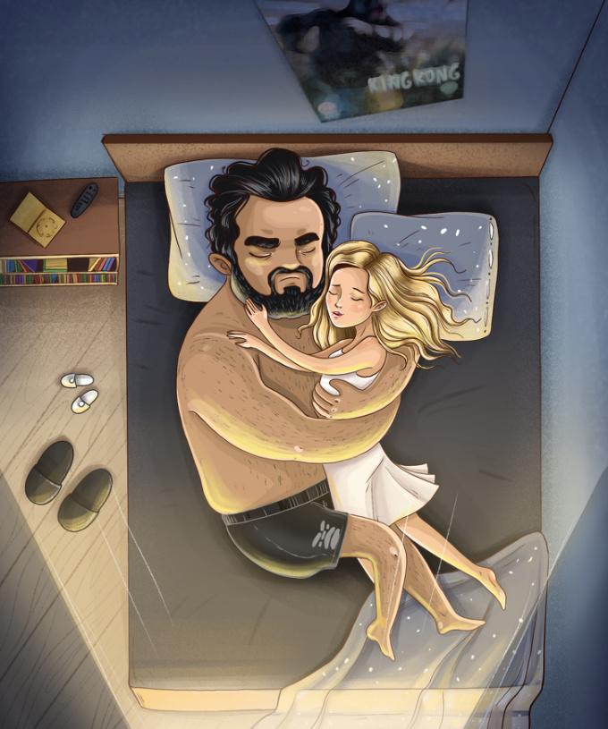 <p> <strong>20. Tư thế ngủ kiểu bao bọc</strong><br /> Bạn luôn có xu hướng muốn được ôm, che chở và có cảm giác an toàn. Điều này cho thấy con đường tình yêu của bạn sẽ rất dài và khó khăn. Sẽ có những định kiến, ngăn cản thậm chí là lên án tình yêu của hai bạn, nhưng nếu vượt qua, bạn sẽ thực sự hạnh phúc.</p>