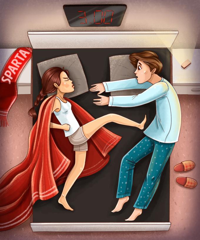 <p> <strong>9. Tư thế ngủ 'người hùng'</strong><br /> Bề ngoài, bạn có thể là một người mong manh, yếu đuối nhưng trên thực tế, bạn vẫn tự mình đứng lên. Bạn bảo vệ cuộc sống tình cảm của mình và không cho phép ai làm ảnh hưởng đến chúng.</p>