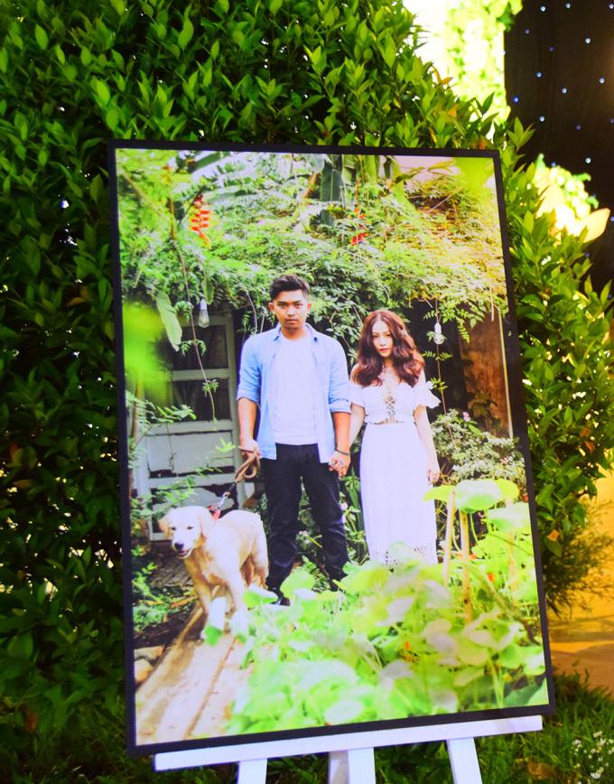 Không gian tiệc cưới lung linh của MiA và chồng kém tuổi