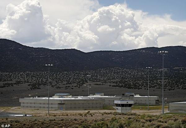 Khu vực nhà tù giam giữ tử tù bang Nevada.
