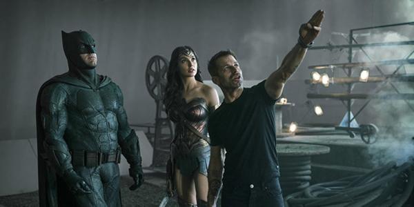 Justice League dùng hơn 80% phần phim được ghi hình dưới bàn tay đạo diễn Zack Snyder.