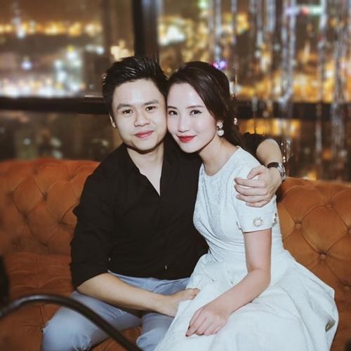 Phan Thànhcông khai tình cảm trong bữa tiệc sinh nhật củaPrimmy Trương hai năm trước.