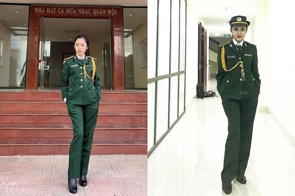Lý giải về việc thường xuyên mặc đồng phục quân dân, Mina Young chia sẻ do thường xuyên tham dự các chương trình âm nhạc và ngoại khóa của nhà trường. 9x có quan điểm, quân phục là trang phục trang trong và đẹp. Đó là dấu ấn ban đầu để nhiều người nhớ đến cô nàng. Tuy nhiên, để theo đuổi ca hát chuyên nghiệp, Mina Young muốn được ghi nhận bằng tài năng.