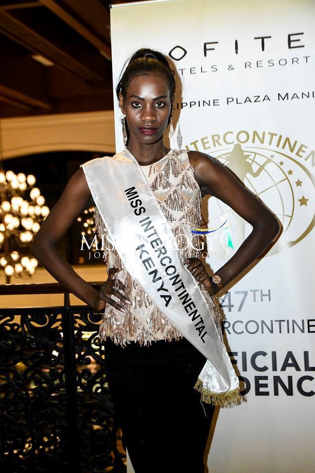 <p> Trong hình là đại diện Kenya. Cô không nằm trong top các thí sinh tiềm năng khi sở hữu khuôn mặt mờ nhạt, sống mũi thô.</p>