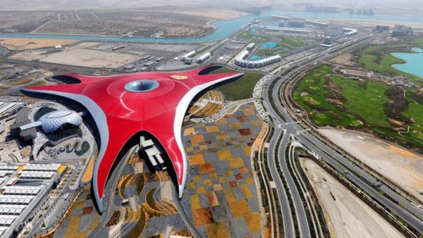 Địa chỉ: Ferrari World, đảo Yas, Abu Dhabi.