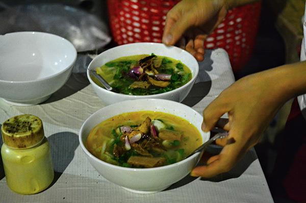Món bánh canh đặc trưng được yêu thích ở Đà Nẵng.