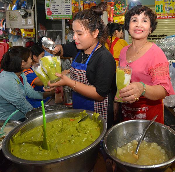 Món kem bơ hút bạn trẻ Đà Nẵng thưởng thức.
