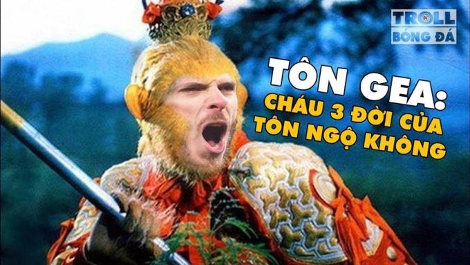 <p> Nhiều fan hài hước cho rằng, De Gea không phải là người nữa mà là vị thánh khi thi đấu như lên đồng.</p>