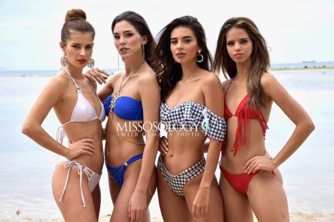 <p> Miss Intercontinental diễn ra từ 9 đến 27/1 tại Manila, Philippines. Cuộc thi năm nay thu hút hơn 70 thí sinh.</p>