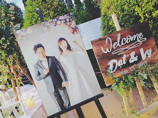 Sao Việt dự đám cưới Tiến Đạt -Thụy Vy - 1